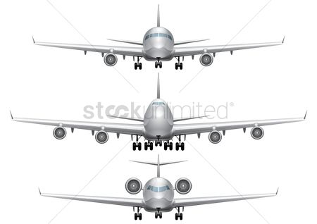 Airplane : Set of  aeroplanes
