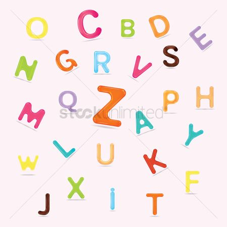 Fonts : Set of alphabets