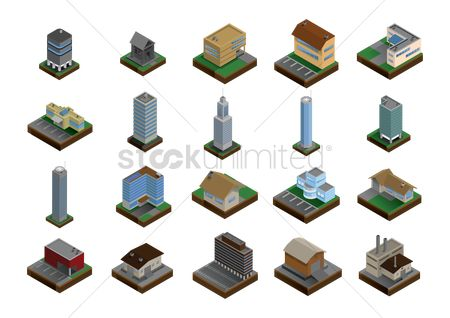 Real estate : Set of buildings