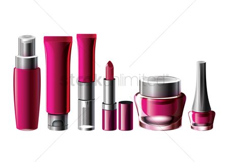 Fashions : Set of cosmetics