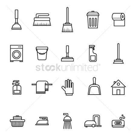 Broom : Set of household equipment