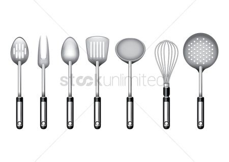 Appliance : Set of kitchen utensils