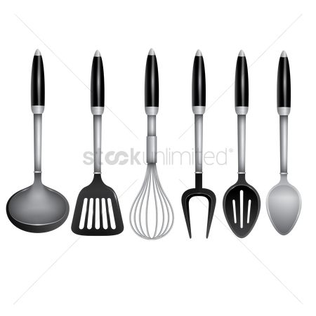Appliances : Set of kitchen utensils