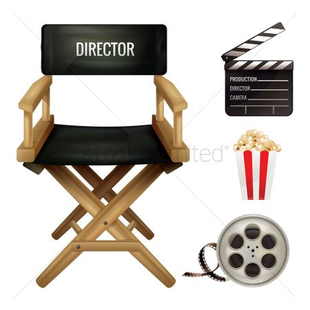 Production : Set of movie equipment