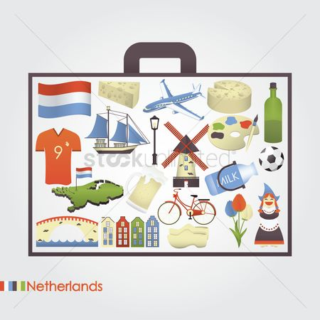 Sail : Set of netherlands icons