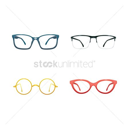 Fashions : Set of spectacles