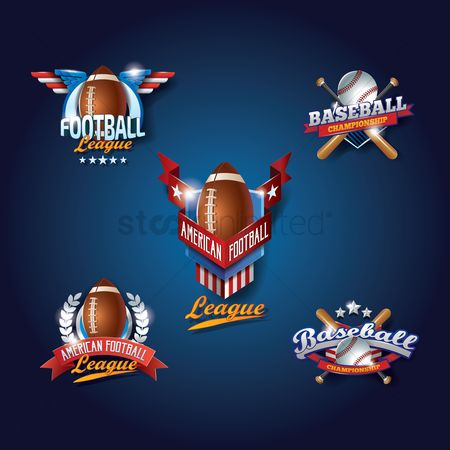 America : Set of sports wallpaper