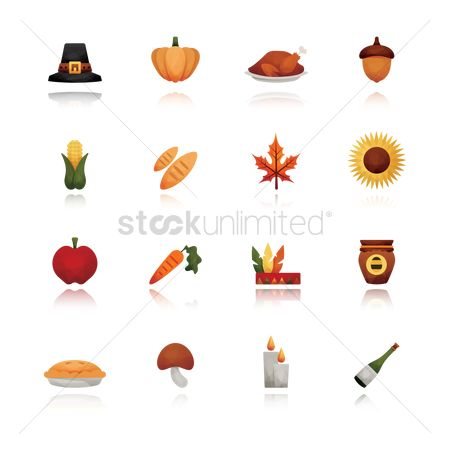 Champagnes : Set of thanksgiving icons