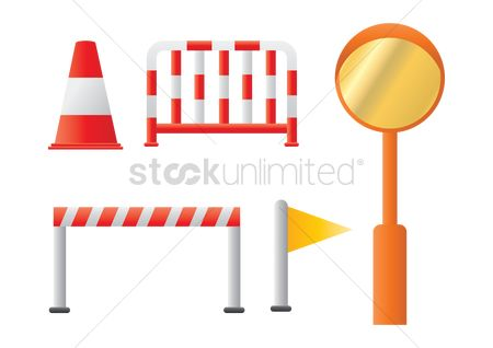Barrier : Set of traffic barriers