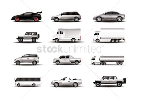 Transport : Set of transport vehicles