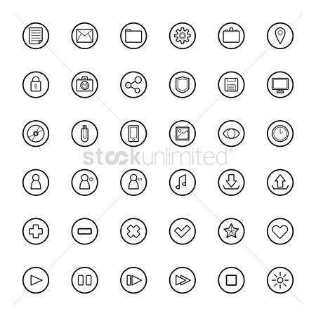 Plus : Set of web icons