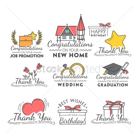 Career : Set of wishes for various occasions