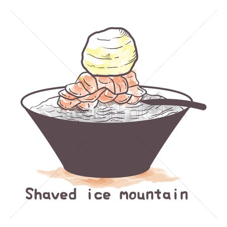 Shaved ice : Shaved ice mountain