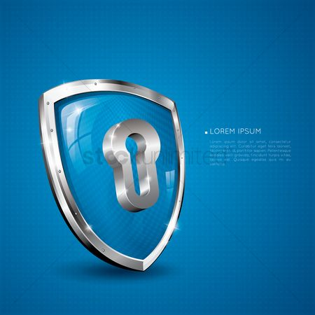 Shield : Shield with keyhole