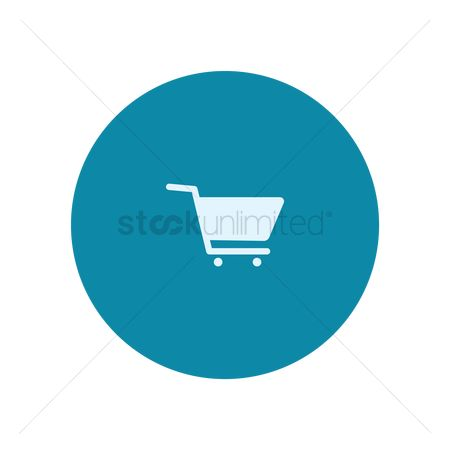Handles : Shopping cart icon
