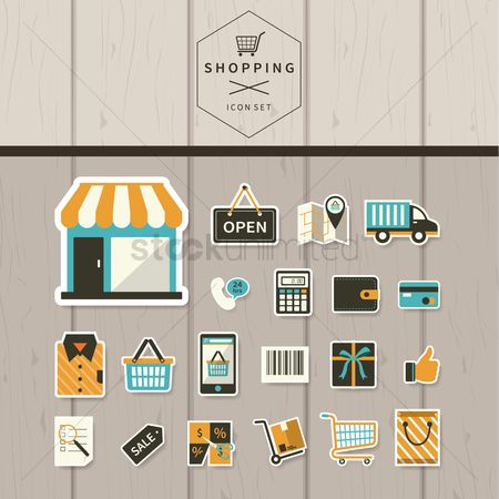 Gifts : Shopping icons