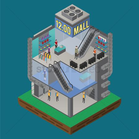 Racks : Shopping mall