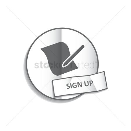 Register : Sign up button