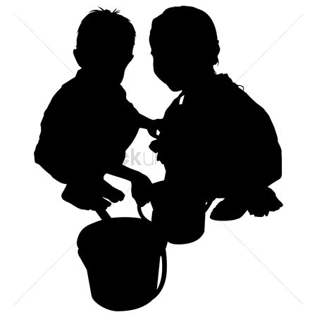 Sons : Silhouette of kids