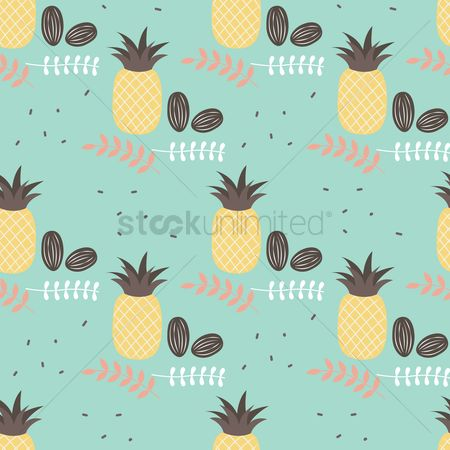 Pineapple : Simple pattern design