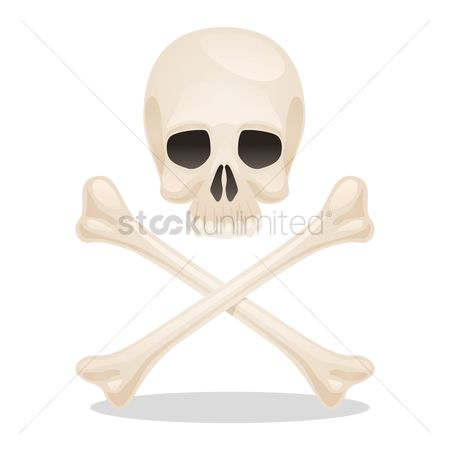 Caution : Skull and bones