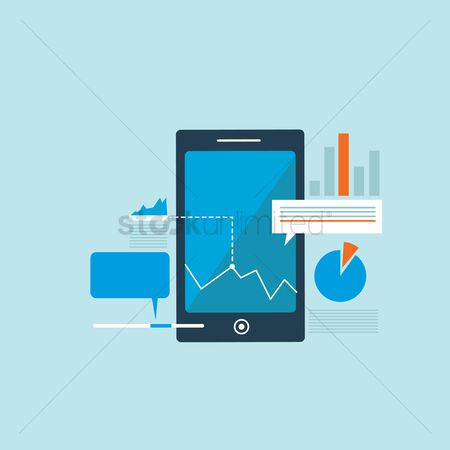 Market : Smart phone business concept