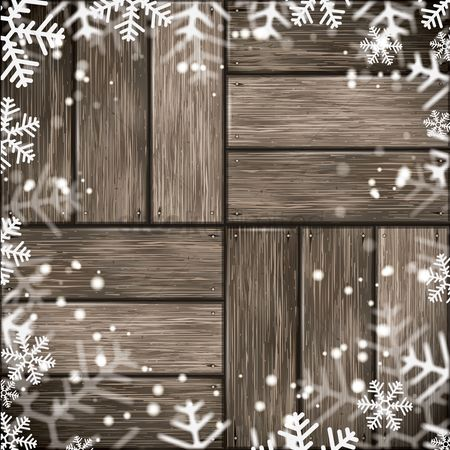 Simplicity : Snowflakes wallpaper