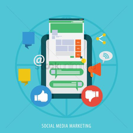 Mobiles : Social media marketing