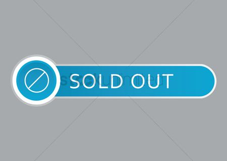Sold : Sold out web button