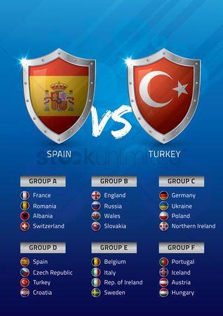 Ukraine : Spain vs turkey