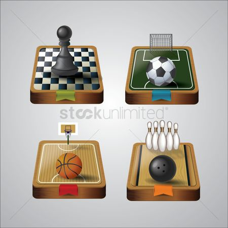 Athletes : Sports equipments