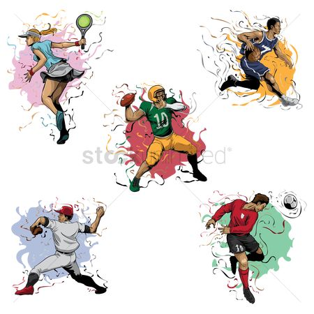 Soccer : Sports players collection