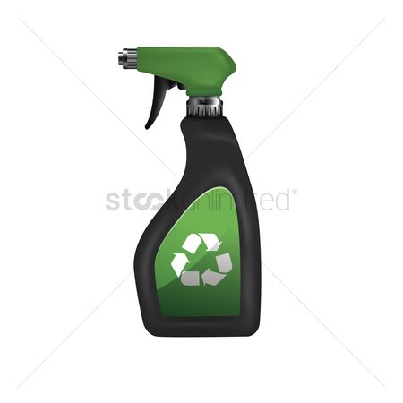 Clean : Spray bottle