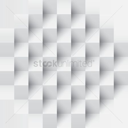 Three dimensional : Square background