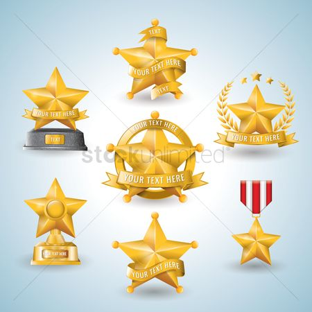 Reward : Star shaped badge