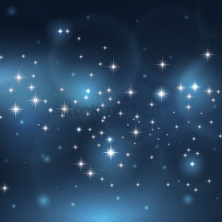 Sparkle : Starry sky background