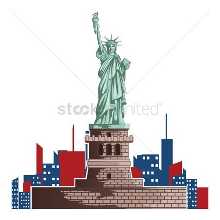 Monuments : Statue of liberty design