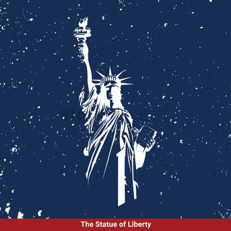 Monuments : Statue of liberty