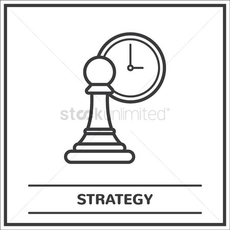 Business strategy : Strategy concept