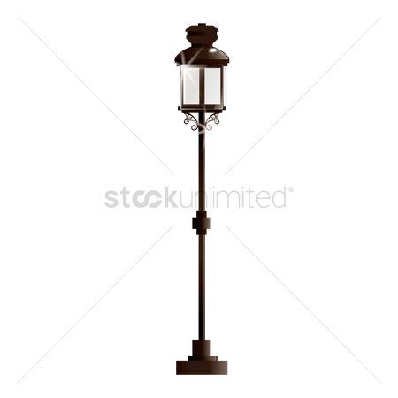 amazon lamps for double com accessory street lamp set of department villages dp accessories figurine