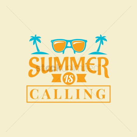 Calling : Summer holidays design