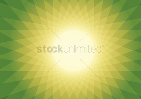 Shine : Sun burst pattern