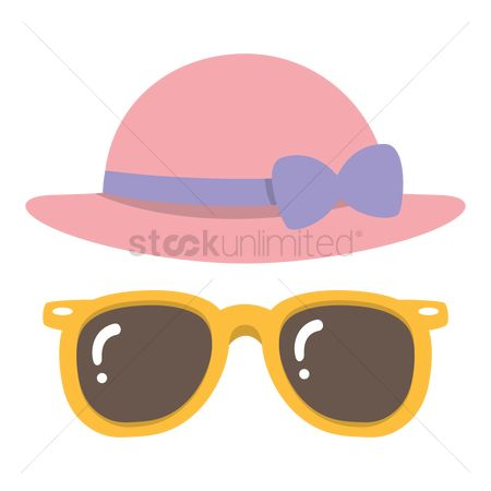 Popular : Sunglasses with beach hat