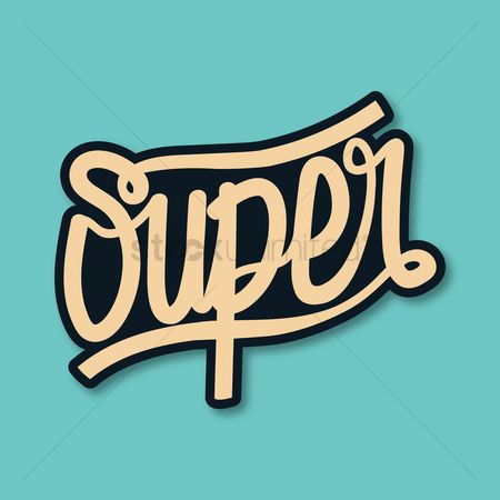 Typographics : Super