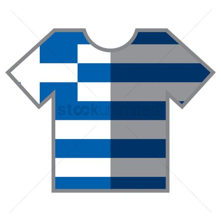Tshirt design : T-shirts with greece flag design