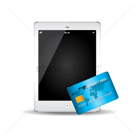 Pad : Tablet pc and credit card