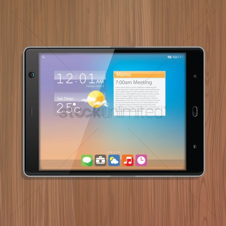 Screens : Tablet