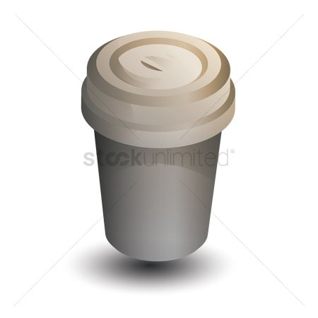 Disposable cup : Take away cup