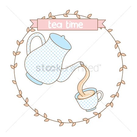 Teapot : Tea time