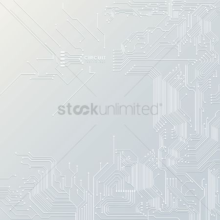 Vectors : Technology background